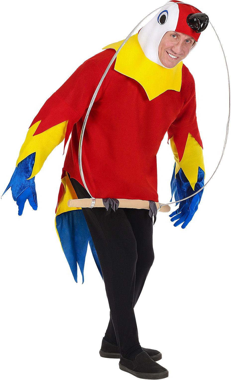 Papagaai op een stokje outfit