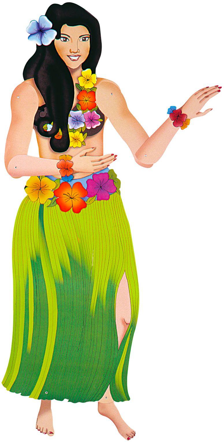 Papieren hawaiiaan versiering