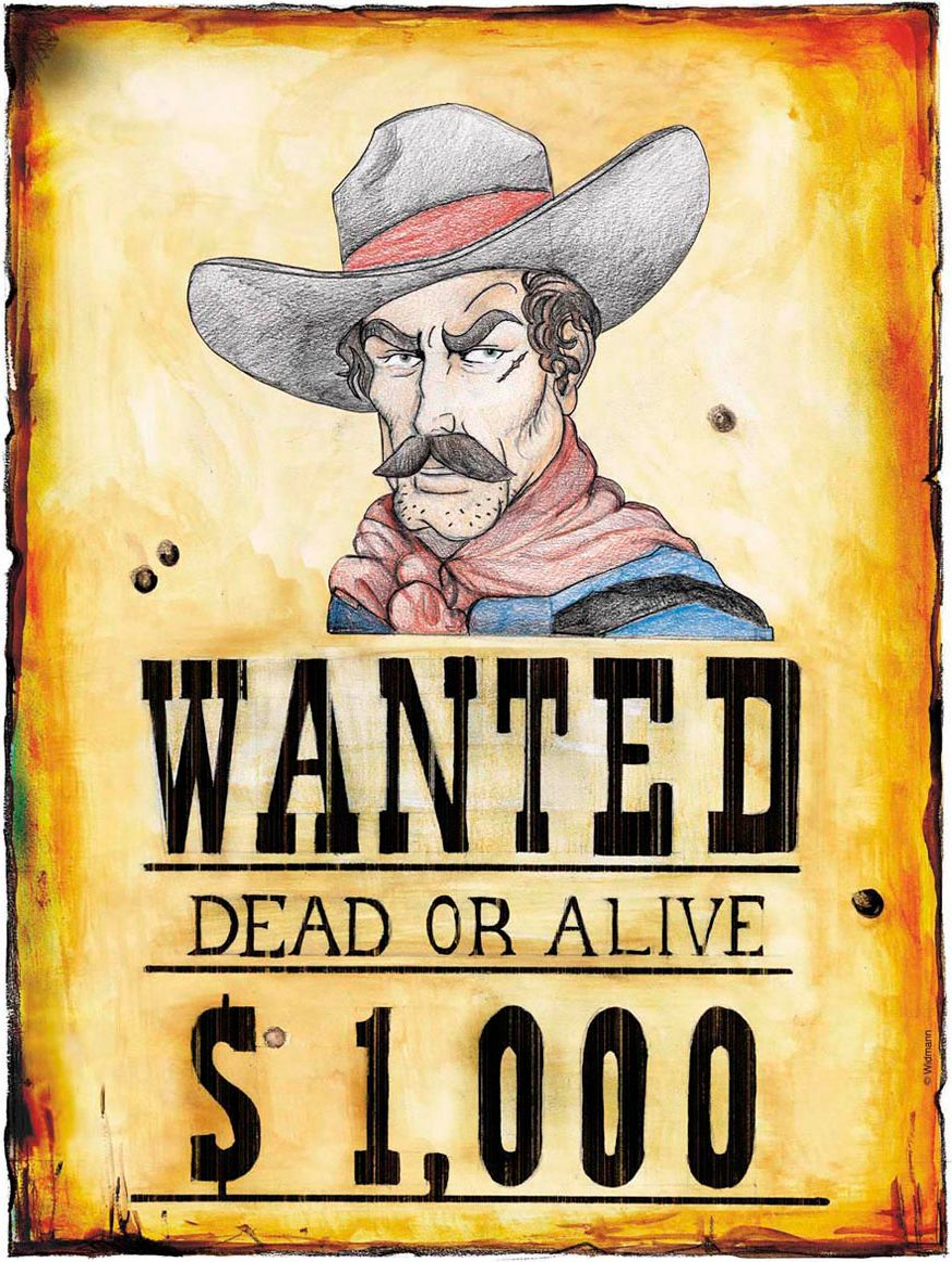 Papieren wanted poster