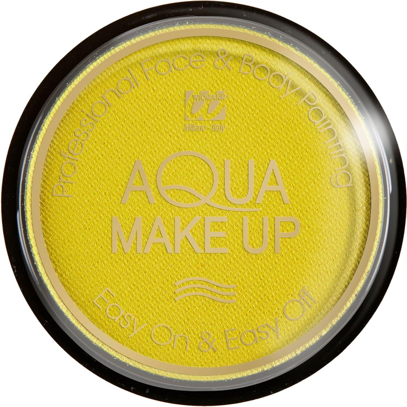 Pastel gele waterbasis make-up