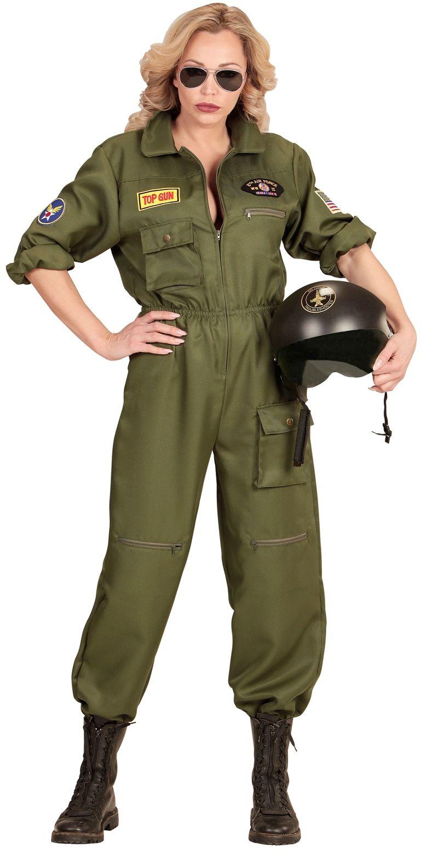 Piloot kostuum dames