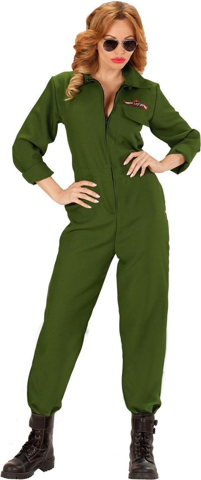 Piloten kostuum dames