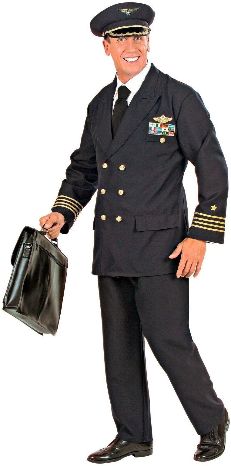 Pilotenpak blauw