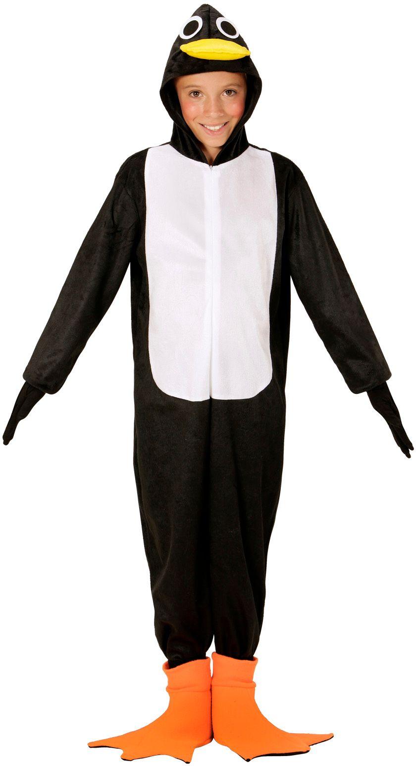 Pinguïn pak carnaval kind