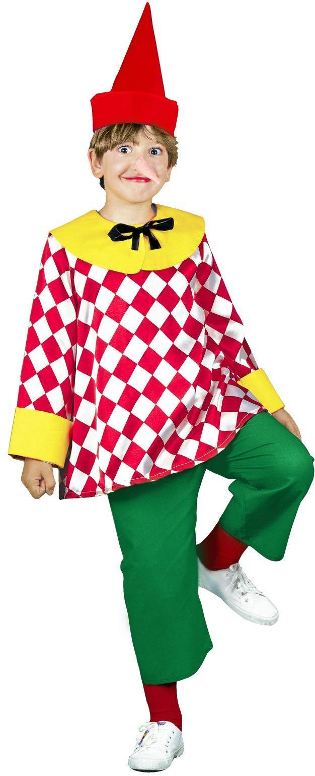 Pinokkio kostuum kind