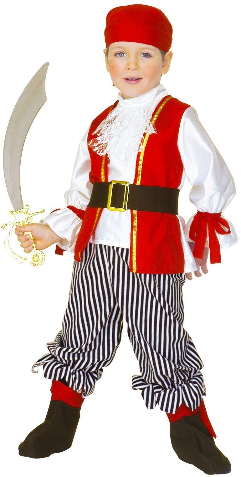 Piraat carnaval kind