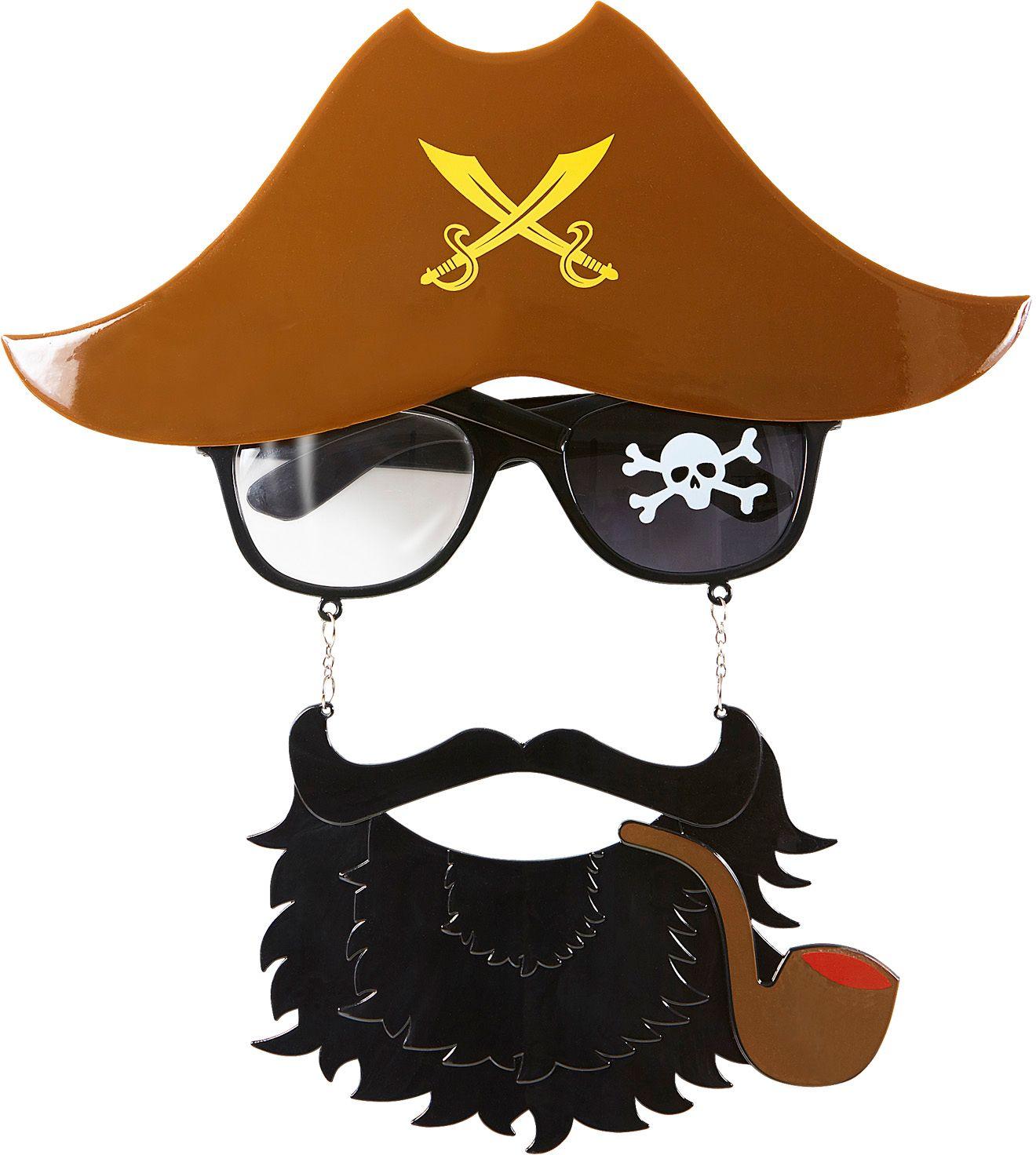 Piraat kapitein bril