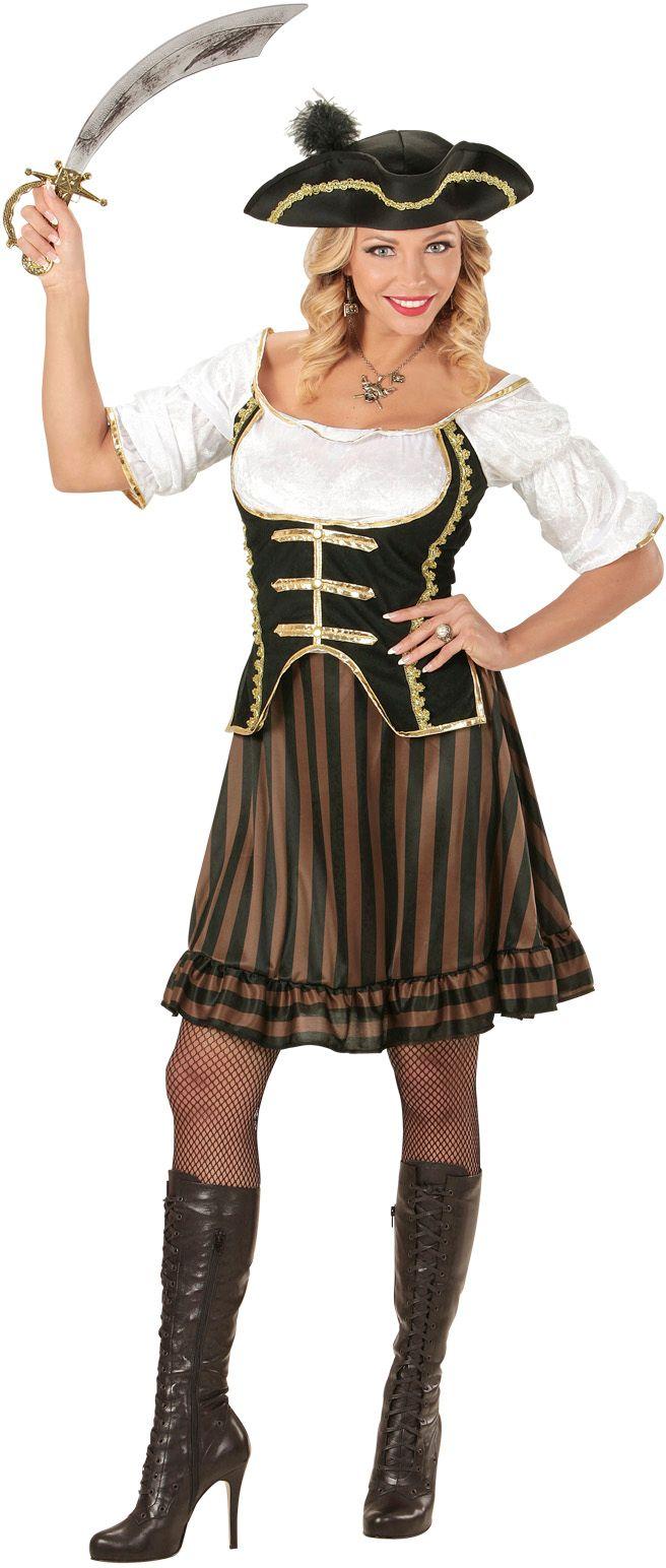 Piraat kapitein pakje vrouw