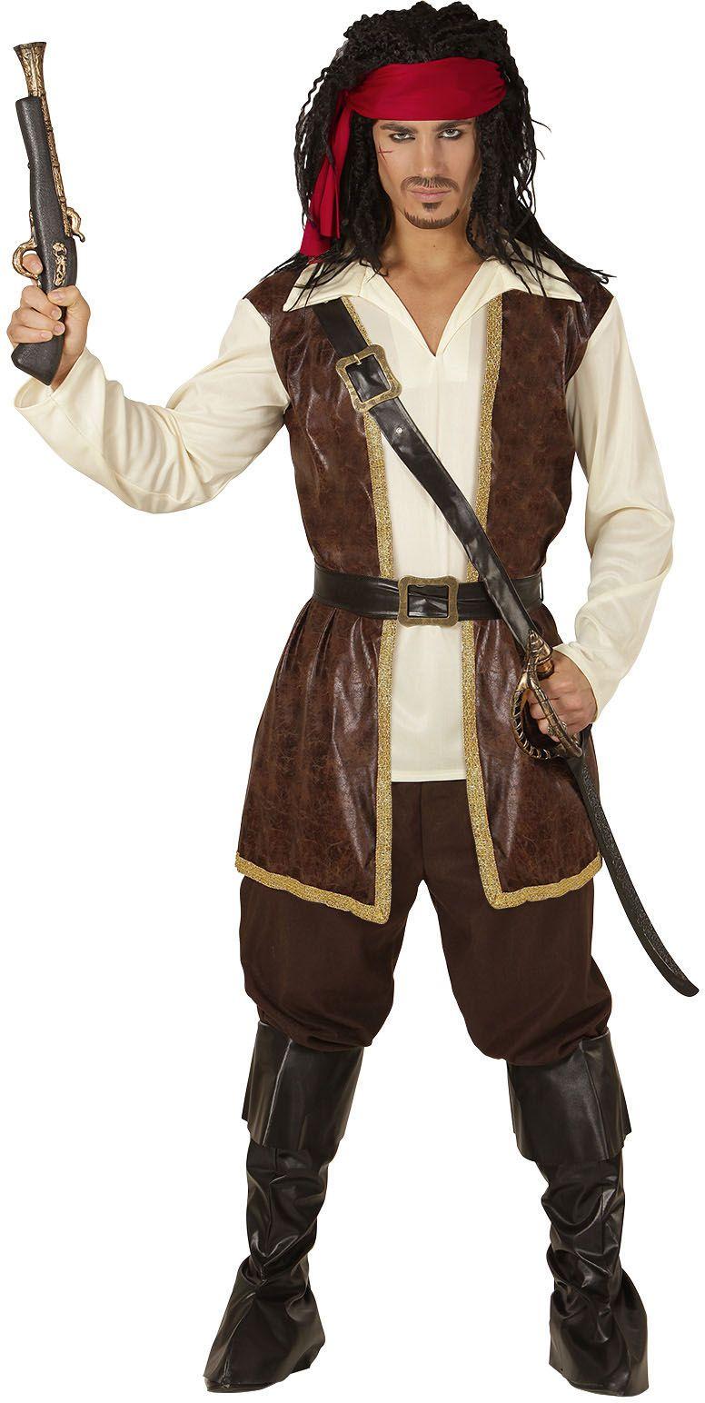 Piraat kostuum heren