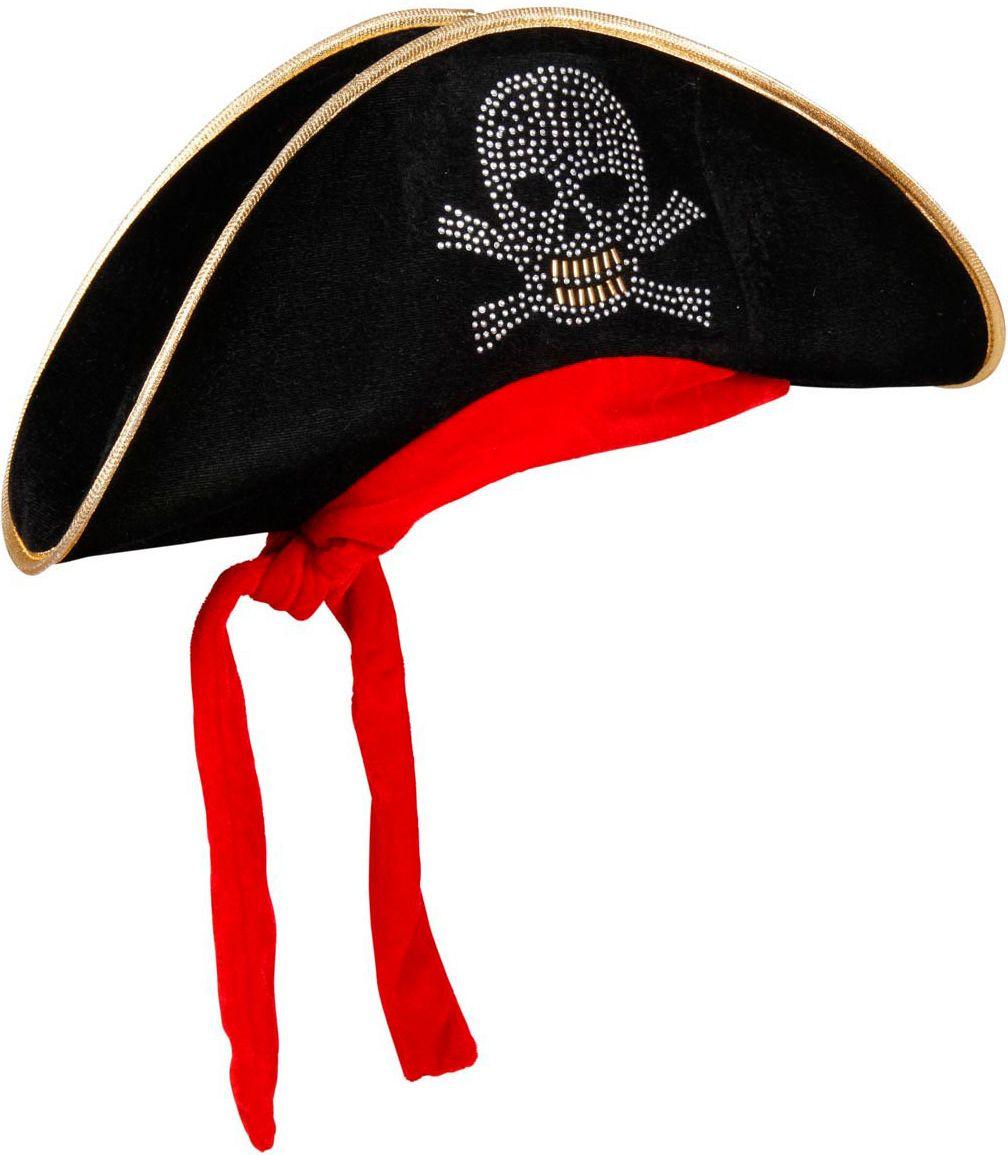 Piraten bicorn hoed met bandana