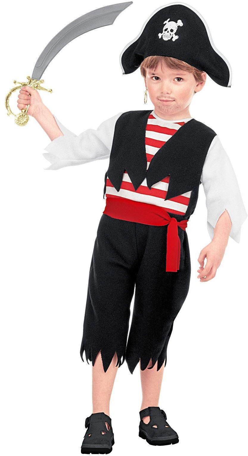 Piraten carnaval pak jongens