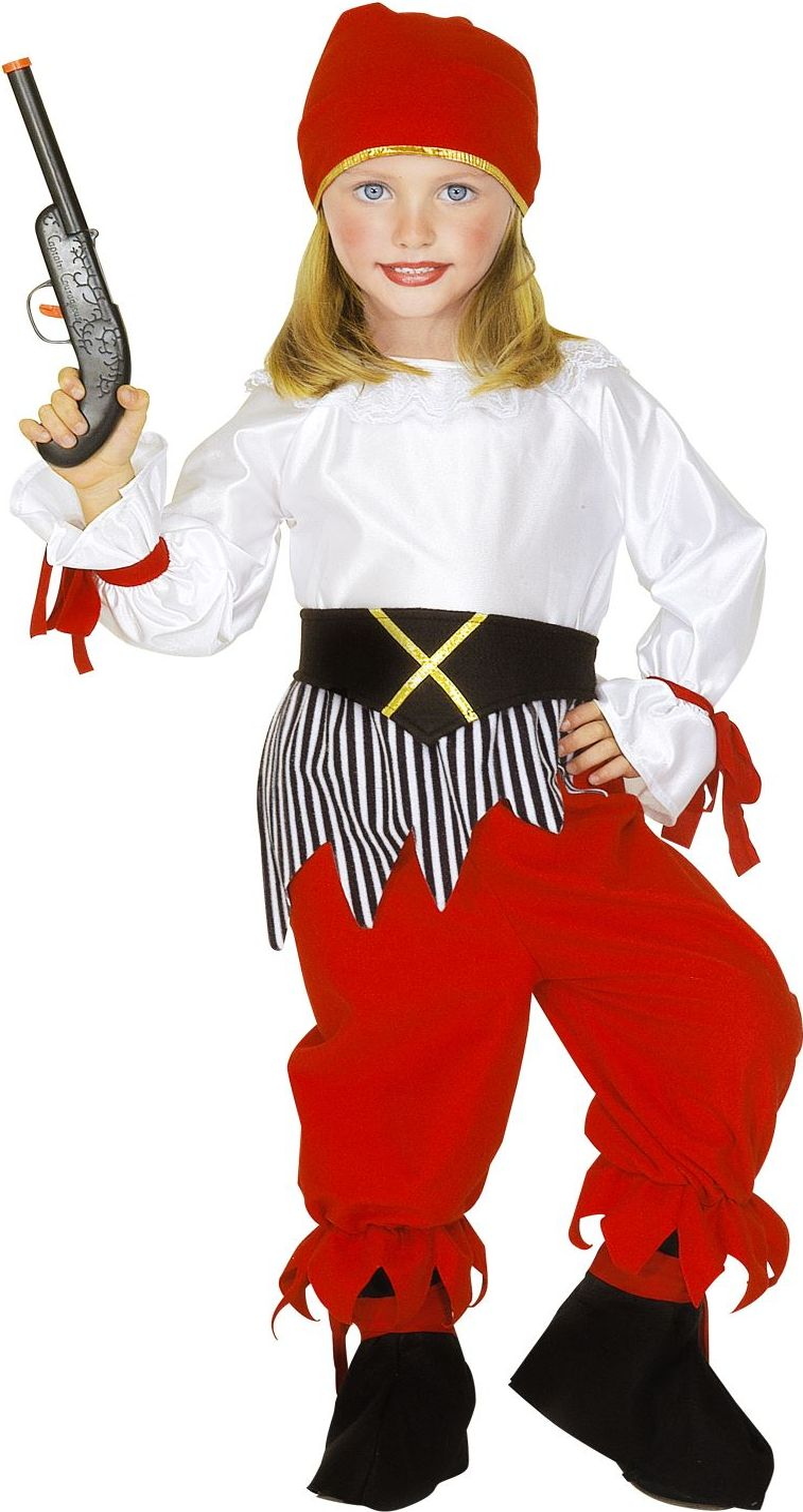 Piraten carnaval pak meisjes