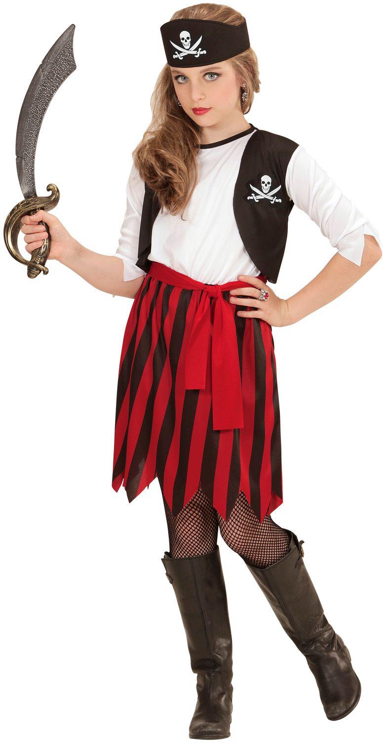 Piraten jurk meisjes