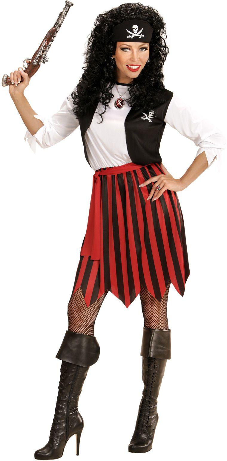 Piraten jurkje dame