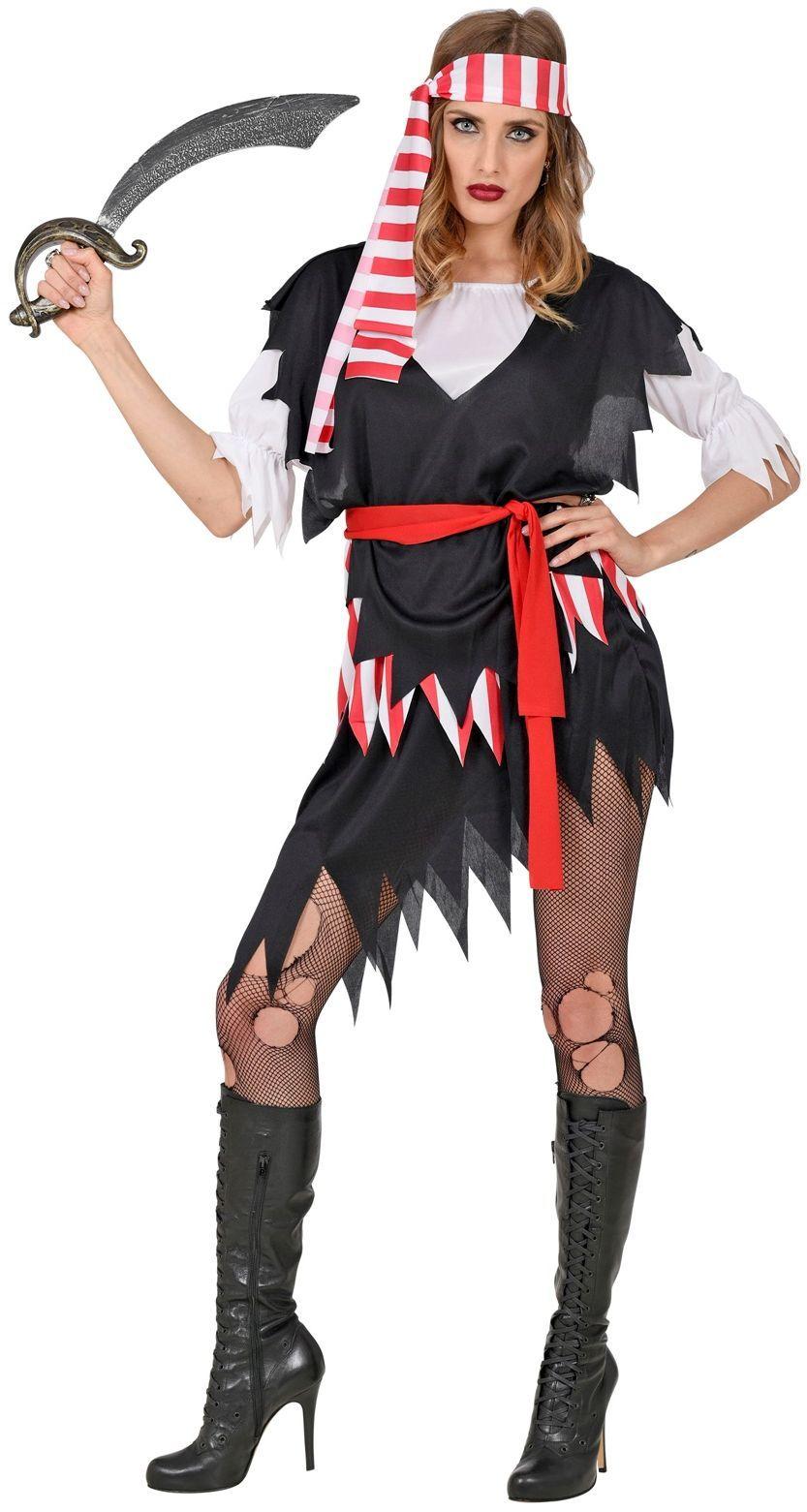 Piraten jurkje dames