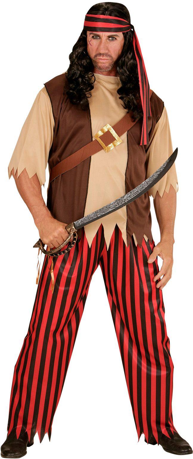 Piraten kleding man