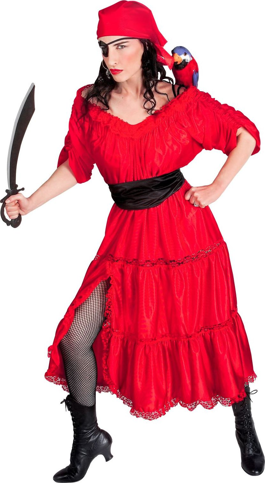 Piraten kleding vrouw