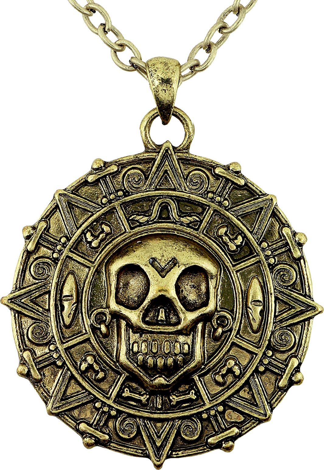 Piraten munt ketting