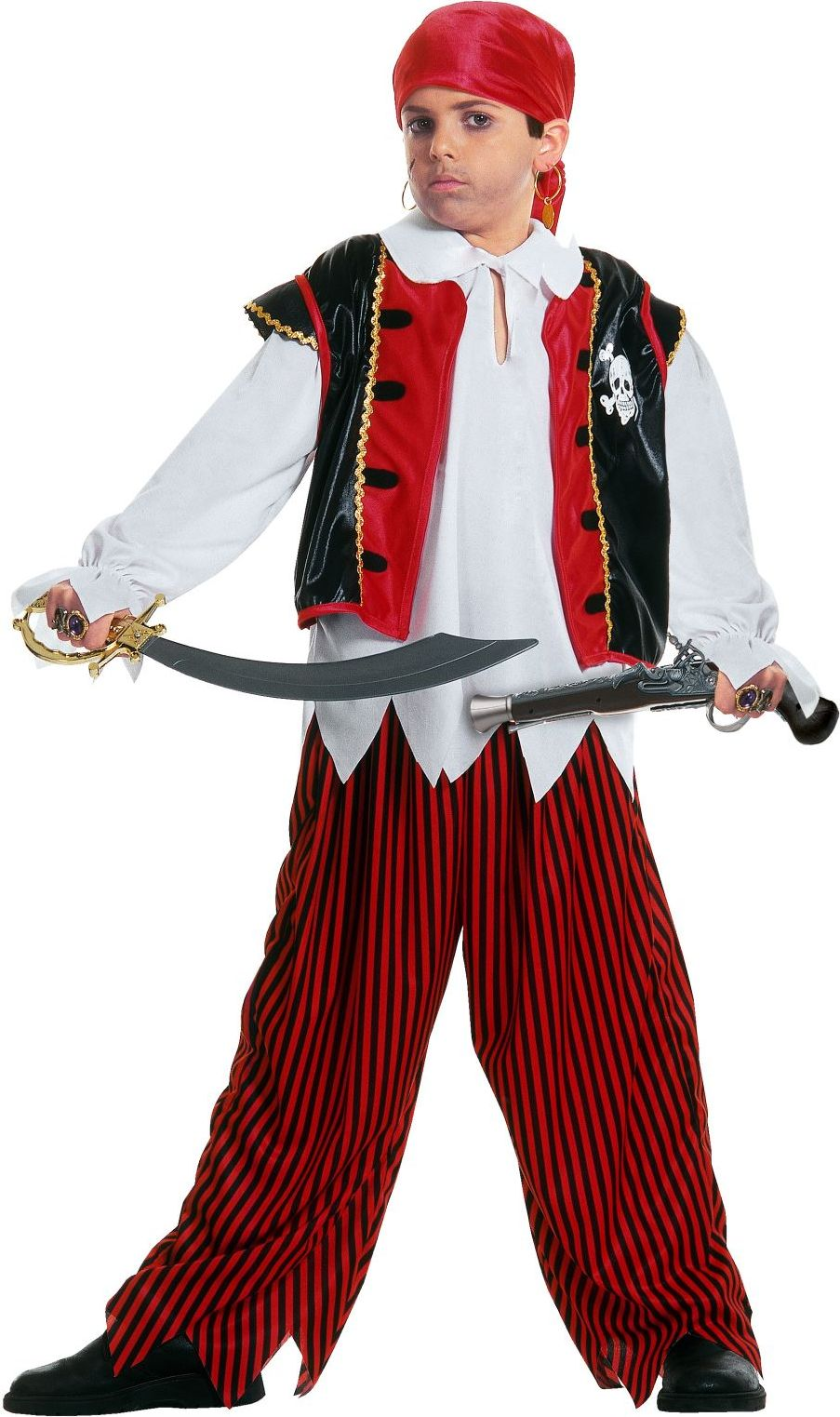 Piraten outfit jongens
