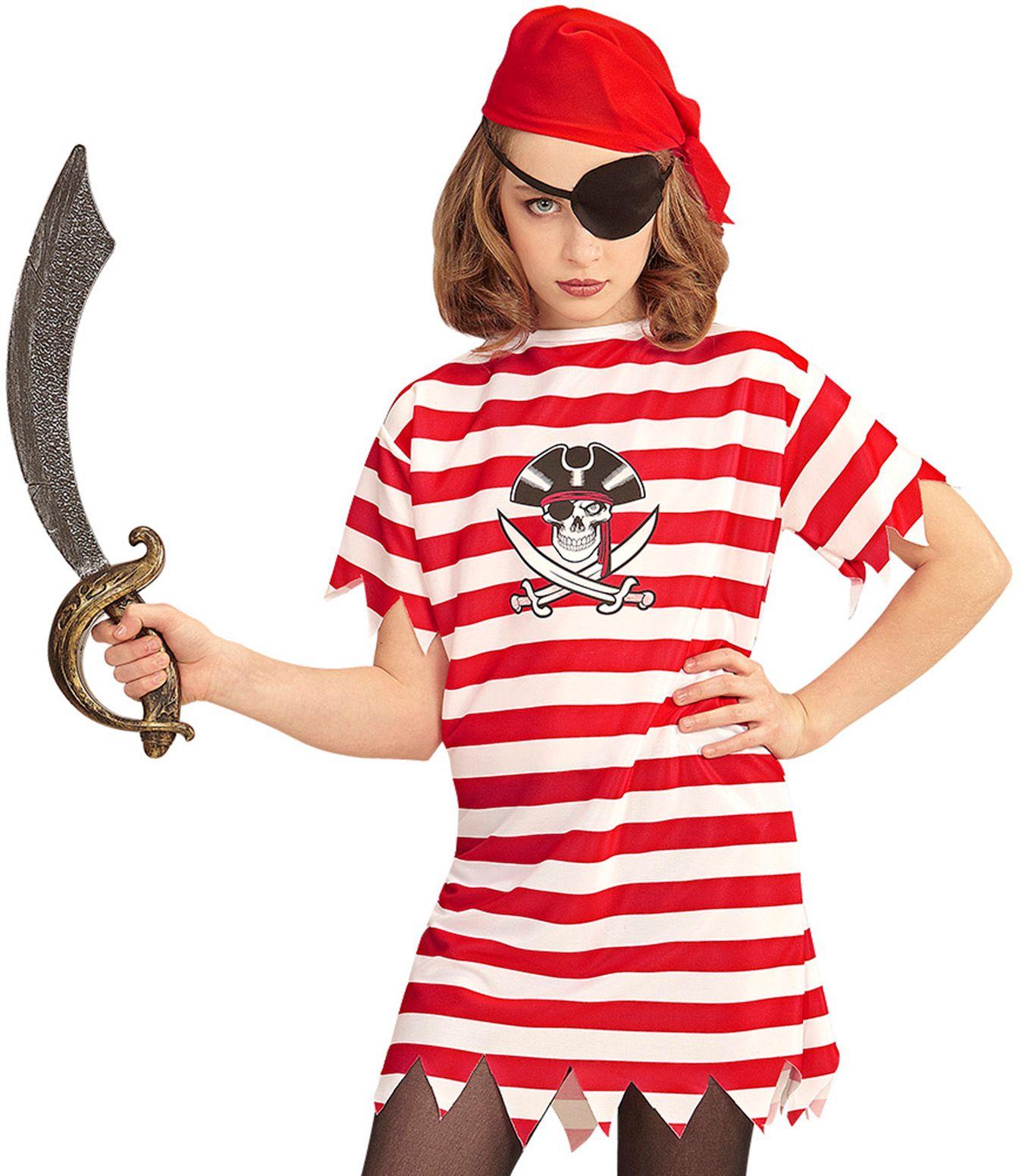 Piraten outfit meisjes 158