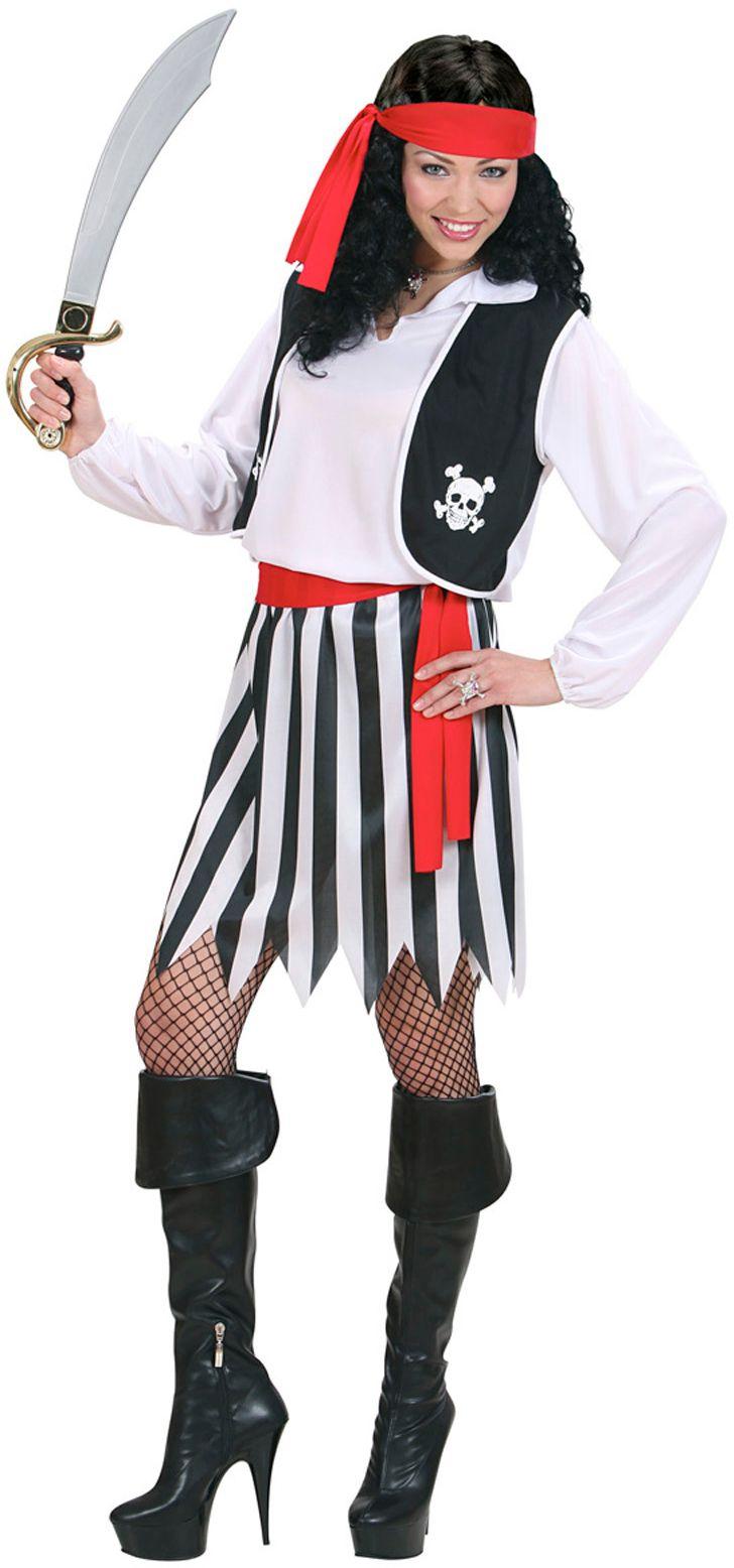 Piraten pak vrouw