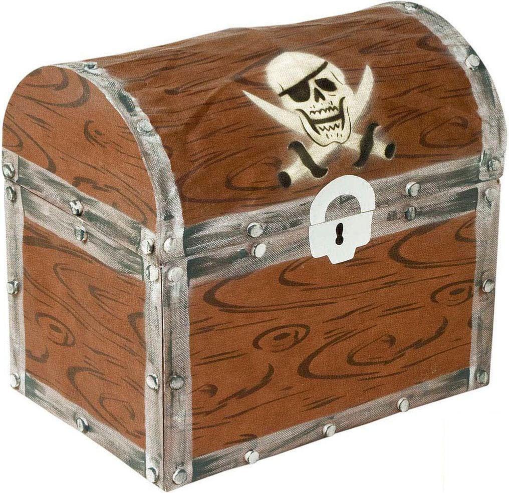 Piraten schatkist versiering