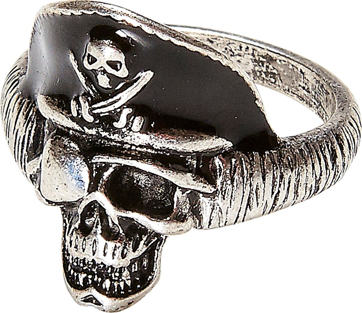 Piraten schedel ring