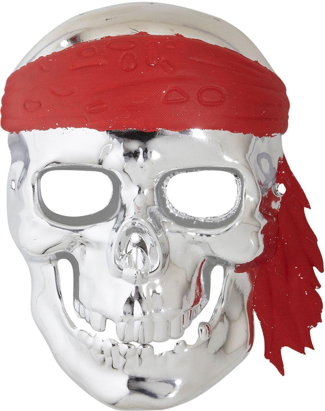 Piraten schedelmasker