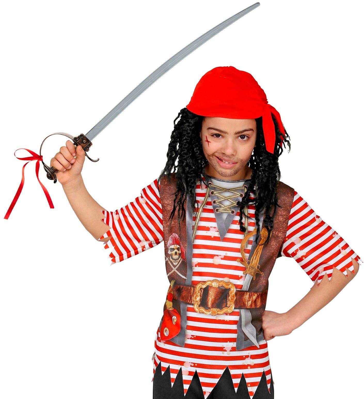 Piraten zwaard met huls