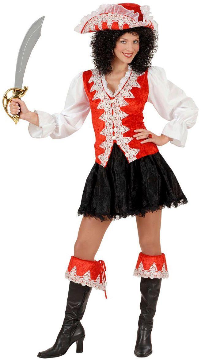 Piratenpak vrouw