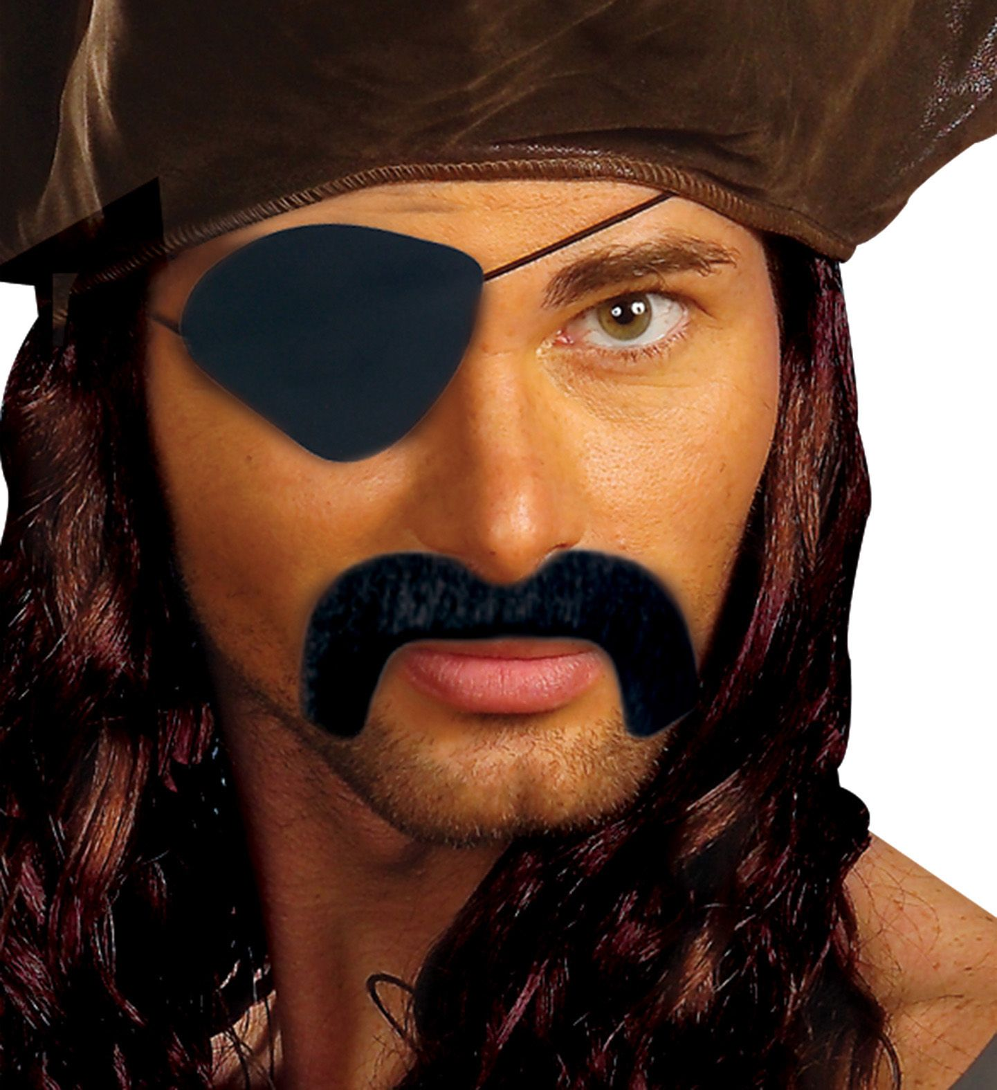 Piratensnor met ooglap
