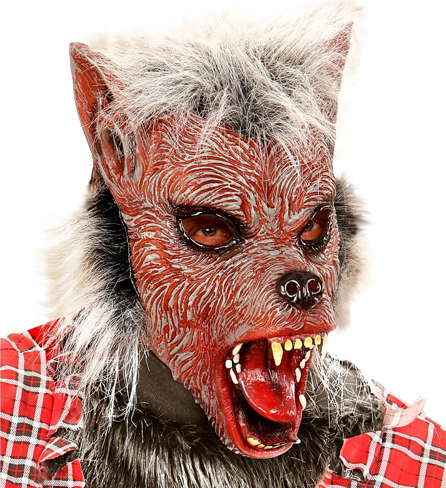 Pluche weerwolf masker