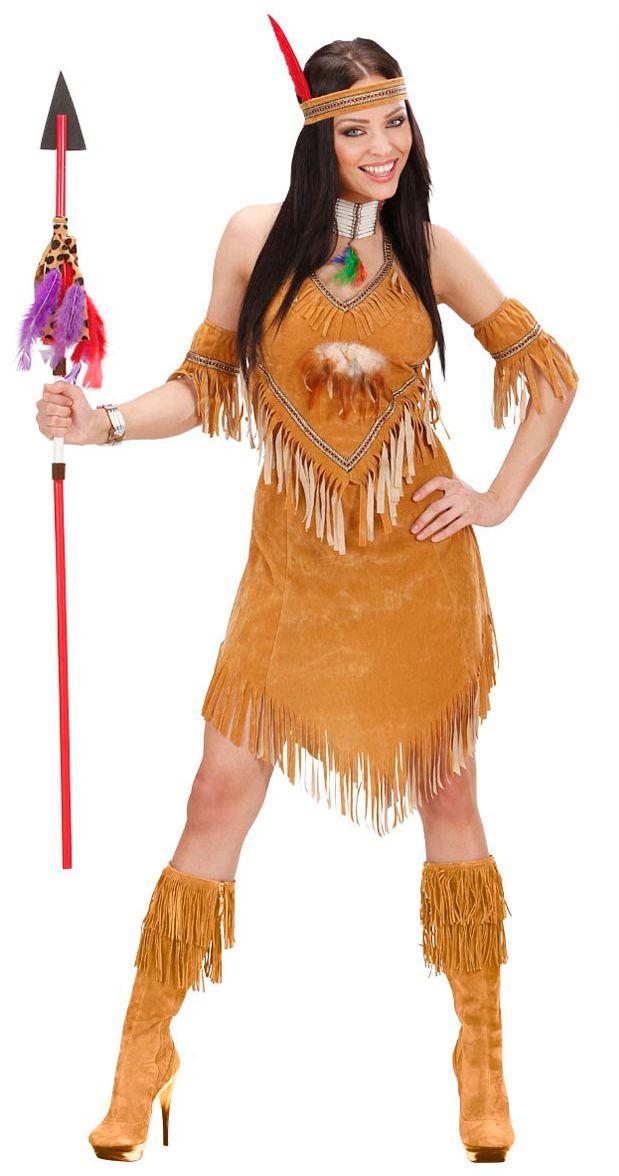 Pocahontas indiaan kostuum