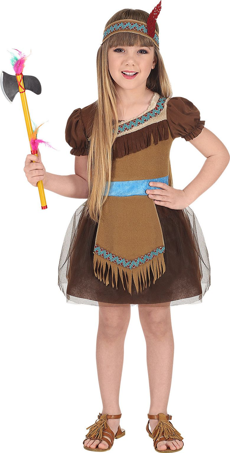 Pocahontas indianen outfit meisje