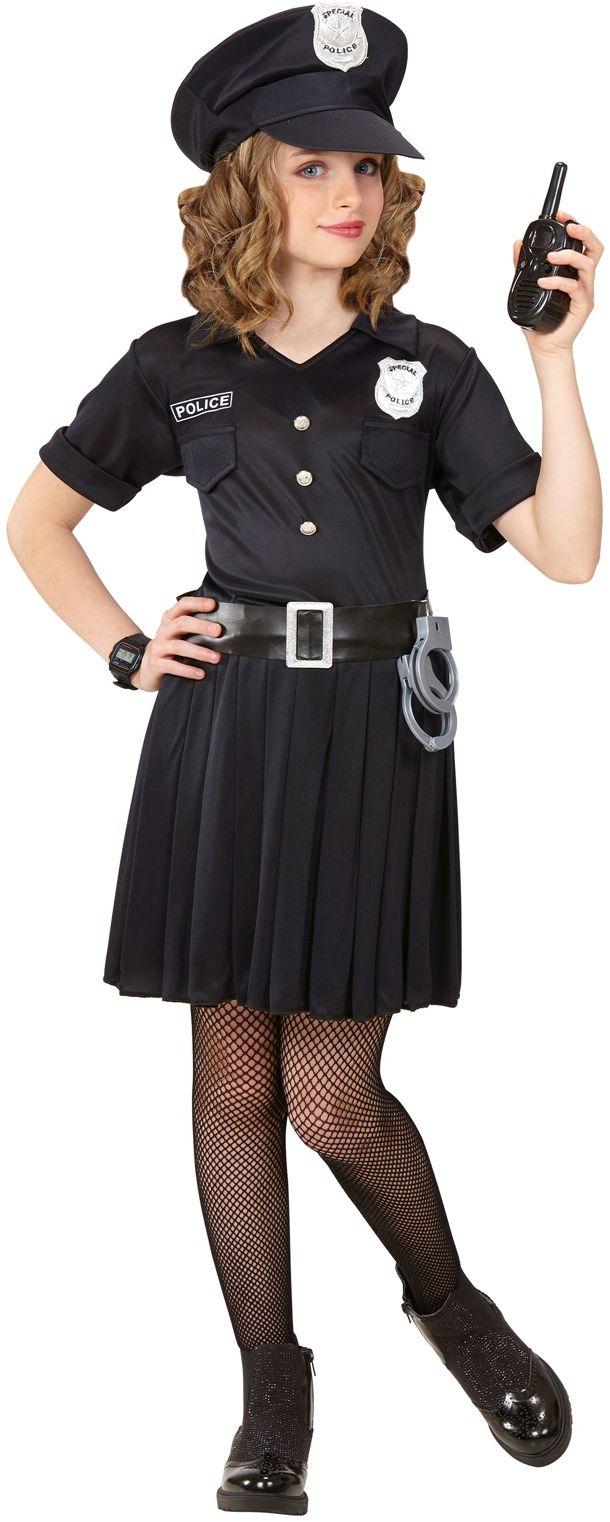 Politie jurk meisje