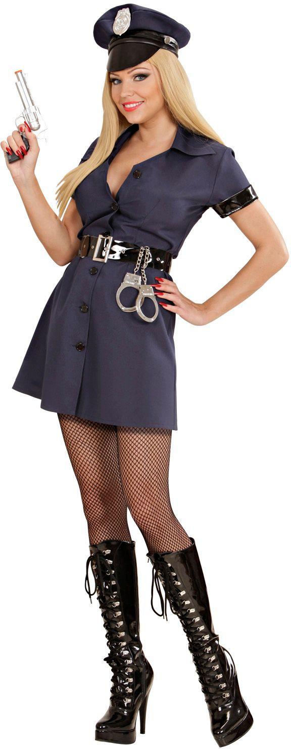 Politie jurkje carnaval dames