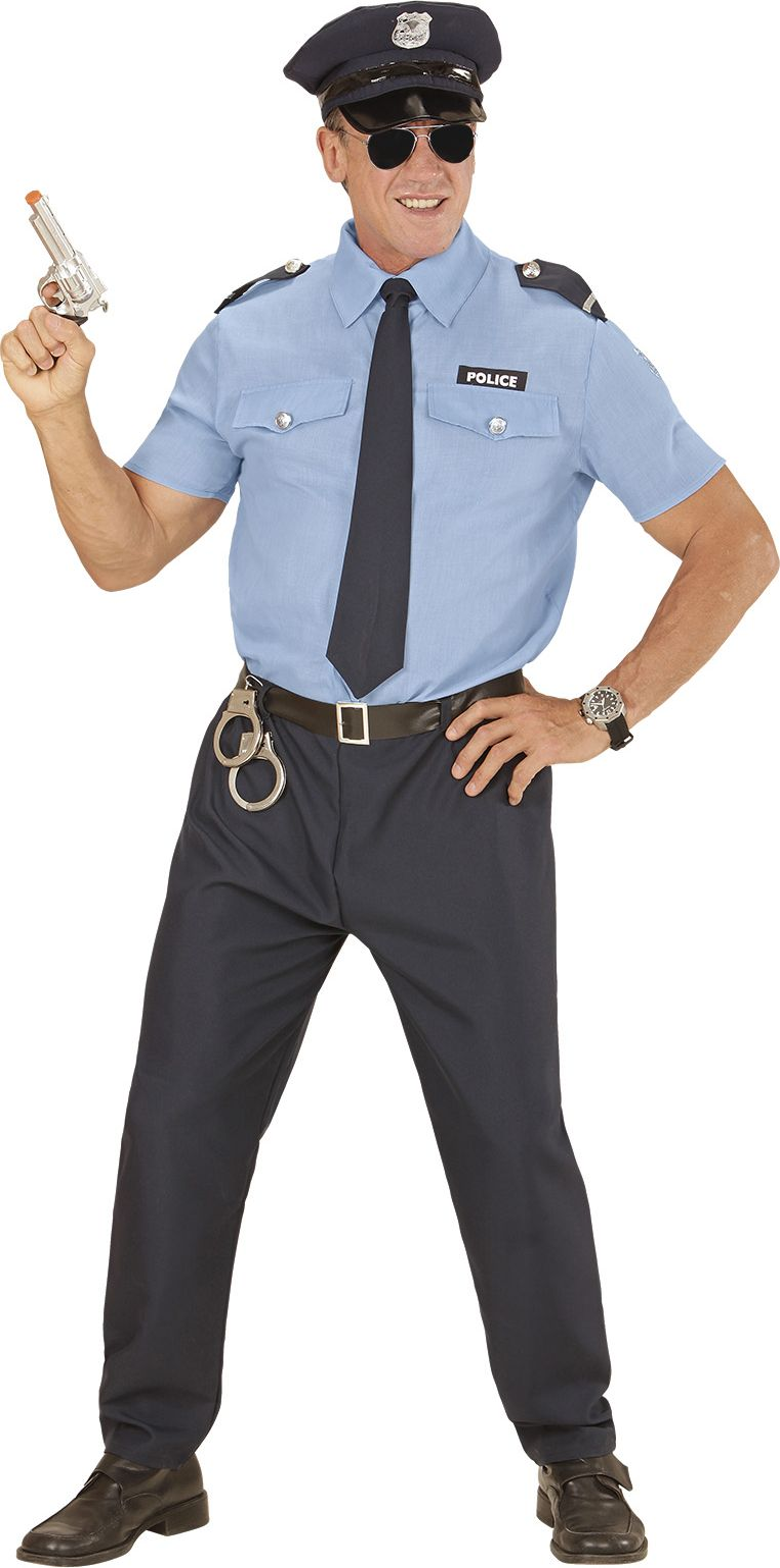 Politie kostuum