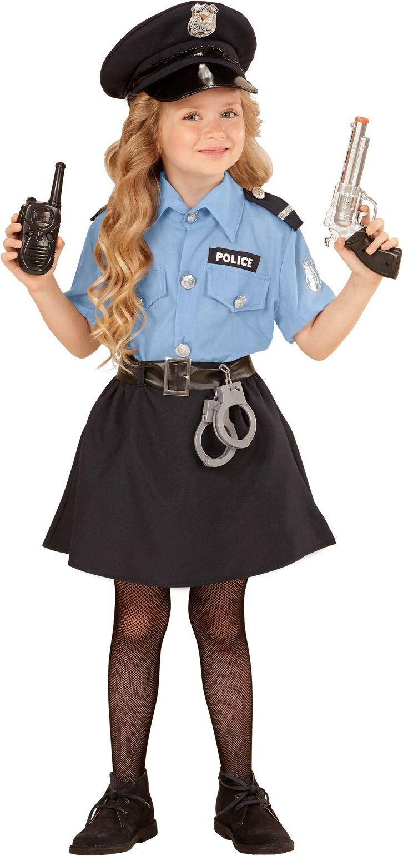 Politie kostuum meisjes