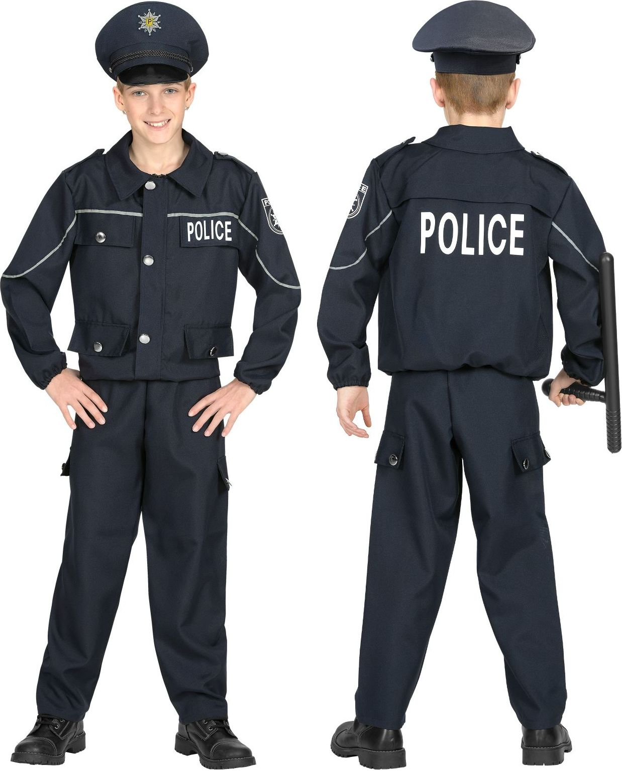 Politie pak kind