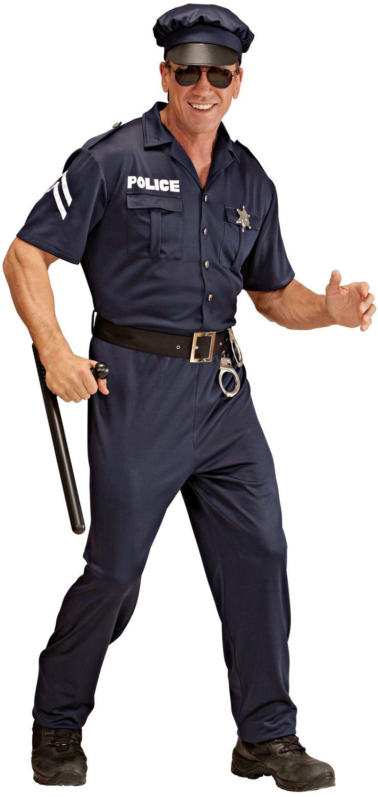 Politie pak zwart