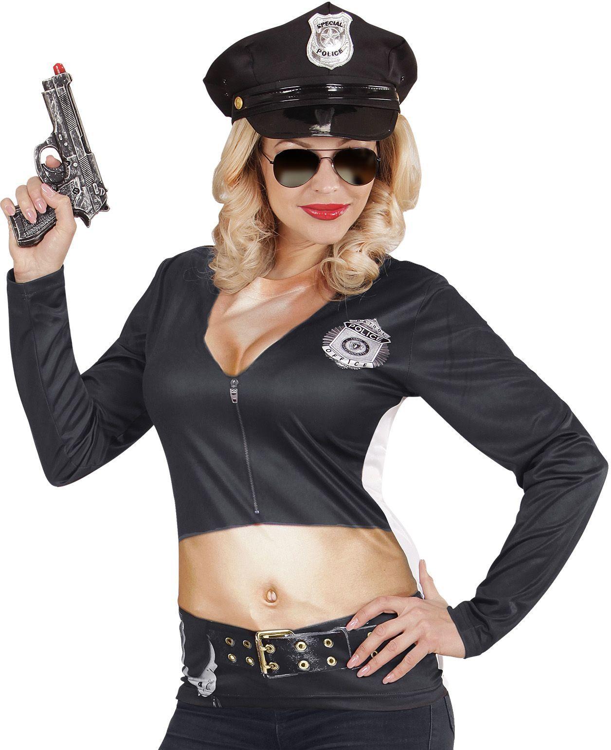 Politie shirt dames