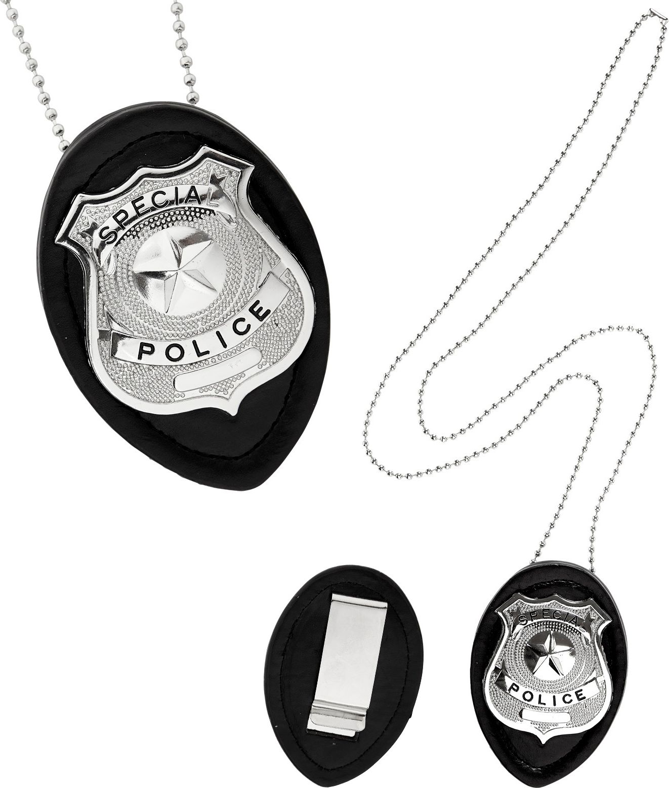 Politie ster ketting