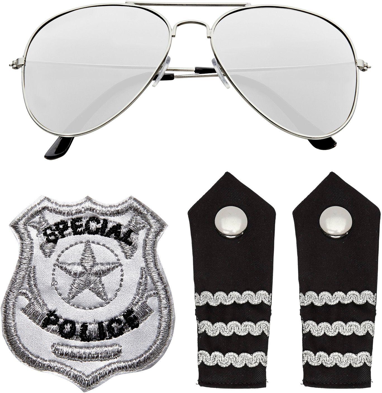 Politieagent accessoires set