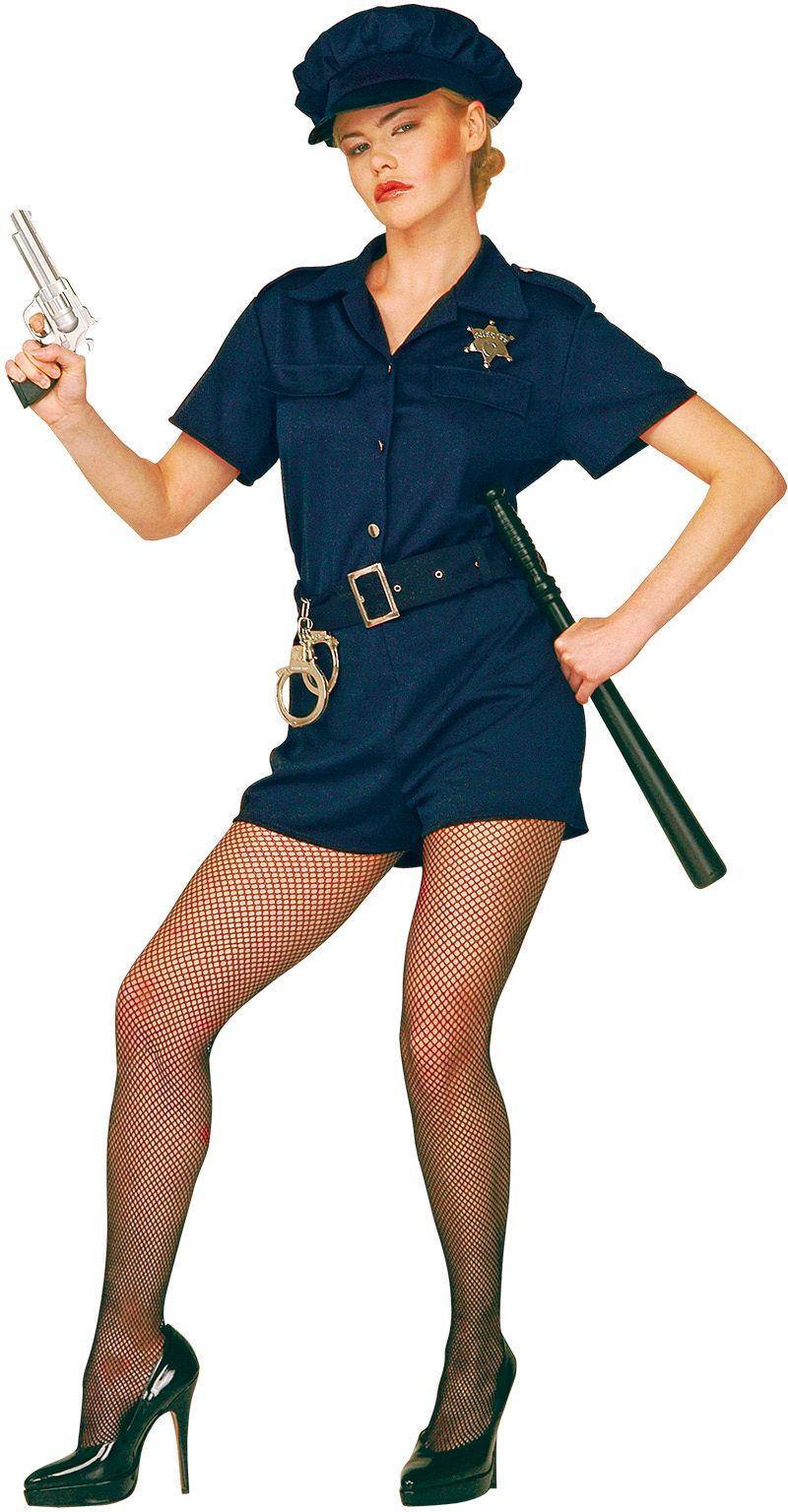 Politiepak carnaval dames