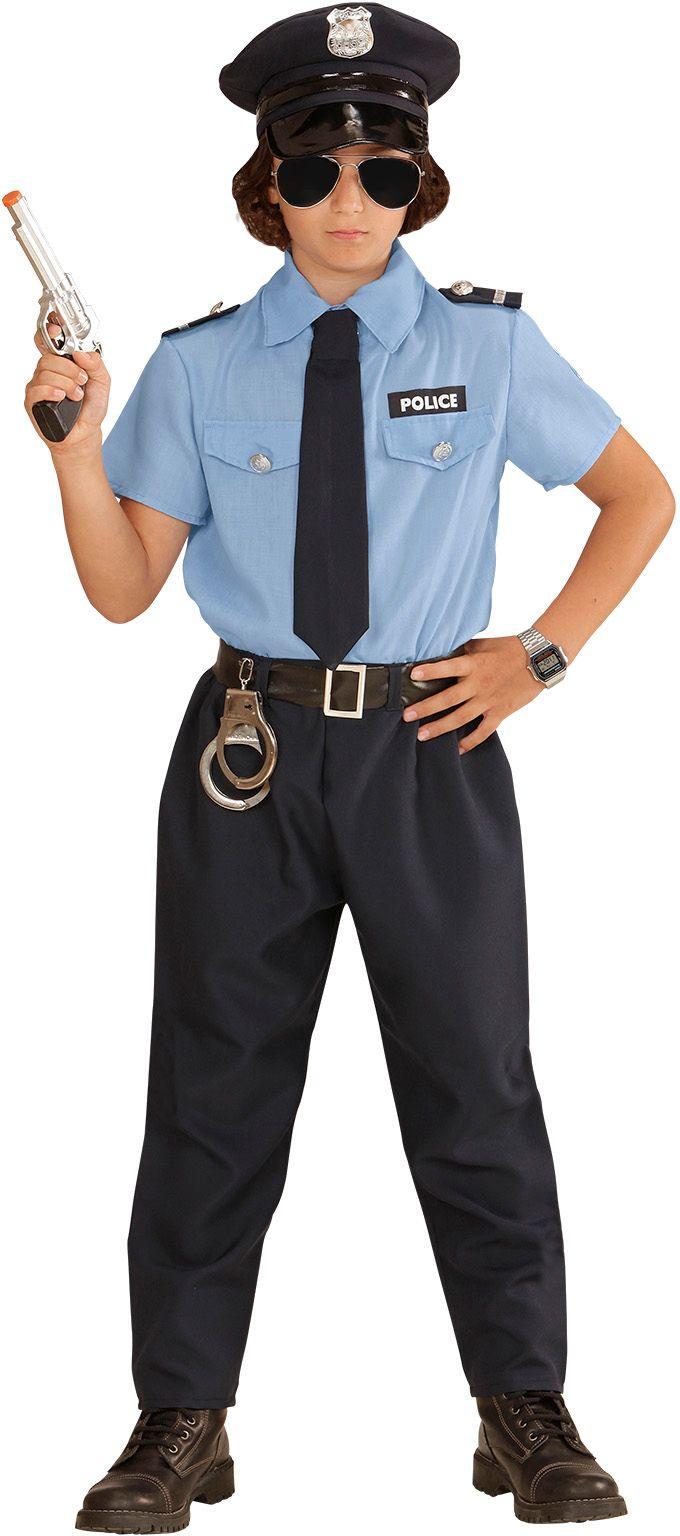 Politiepak kind carnaval