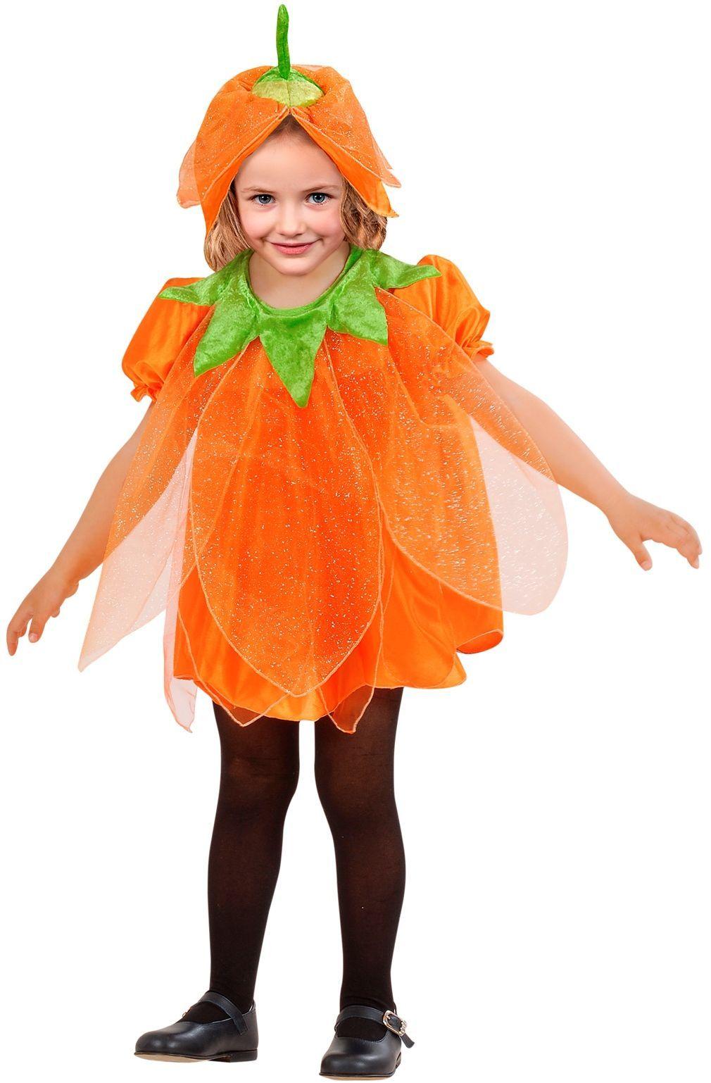 Pompoen jurkje meisjes