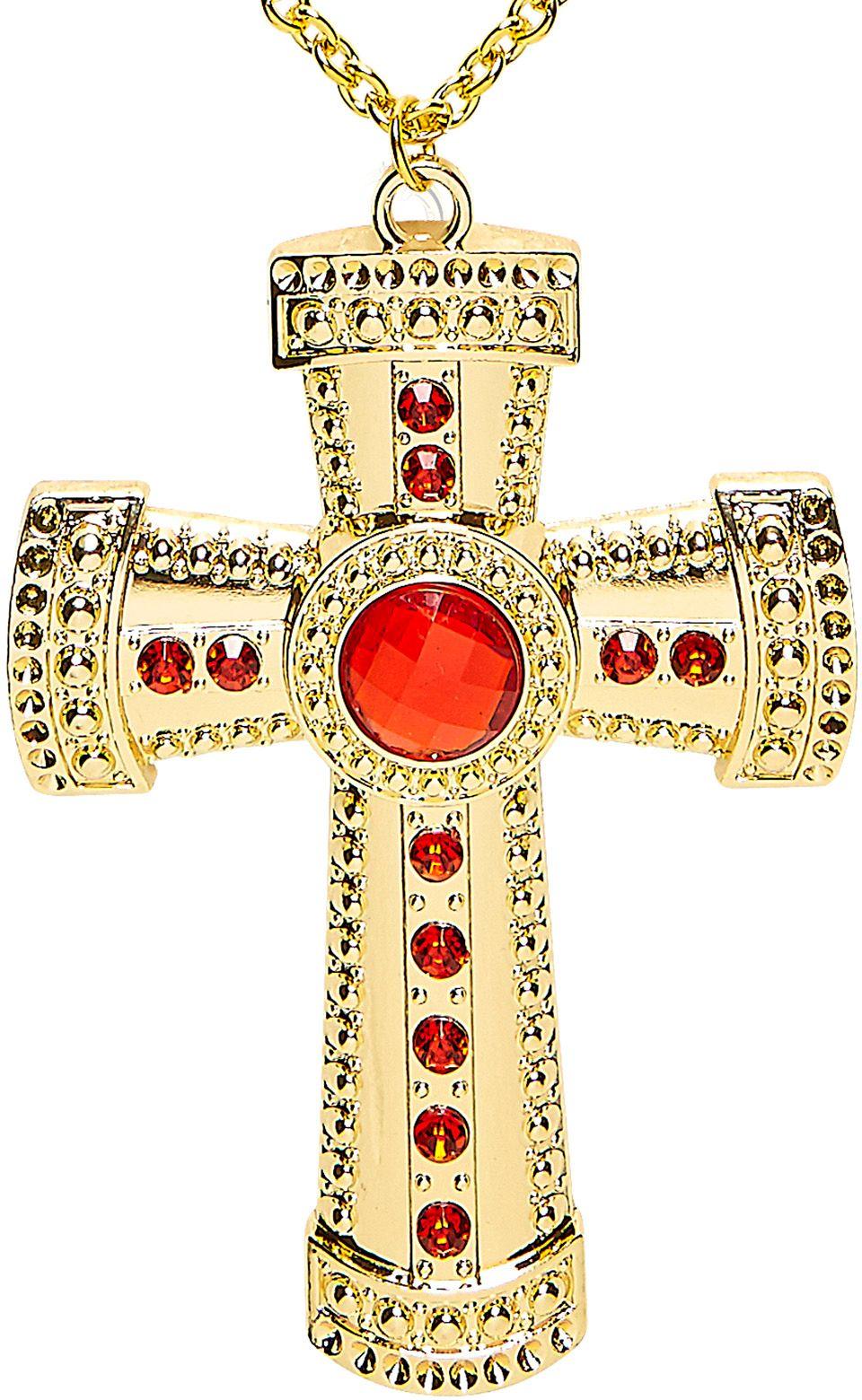 Priester ketting goud