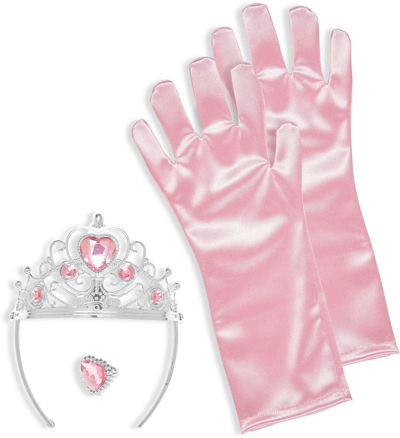 Prinses sieraden set roze
