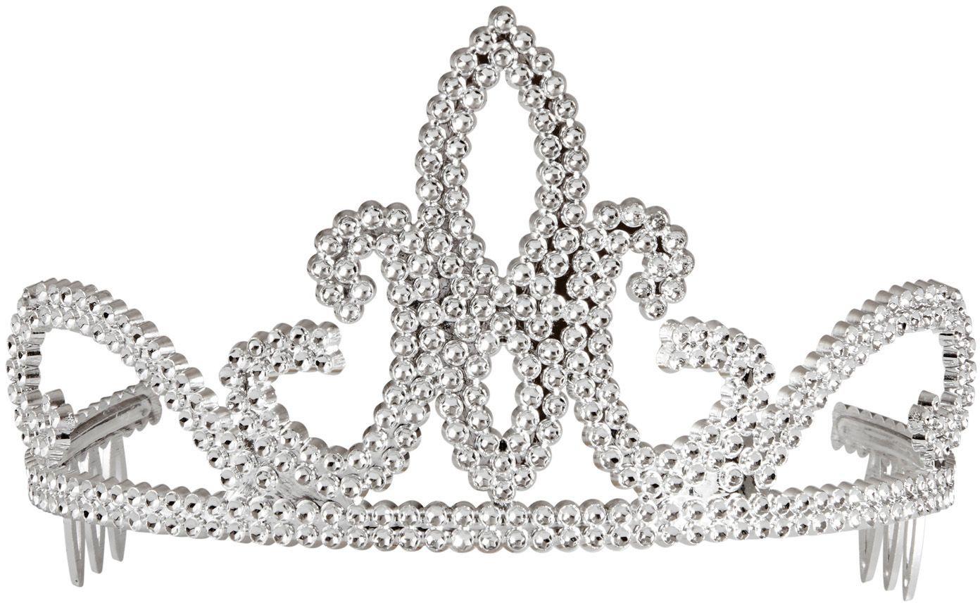Prinsesjes tiara zilver