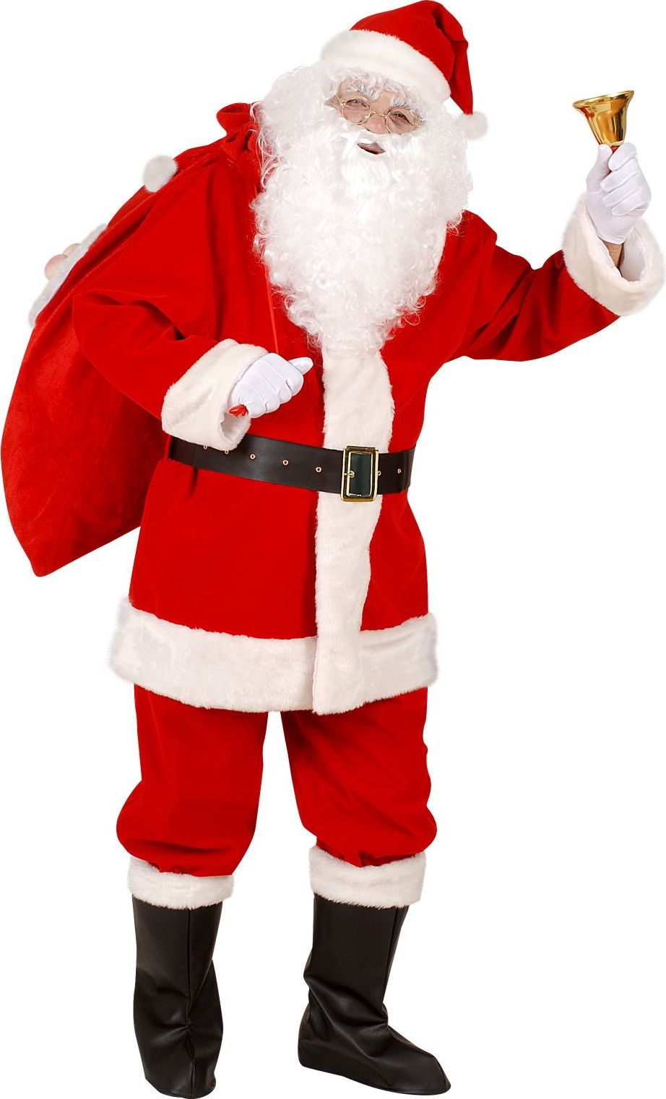Professioneel kerstman pak